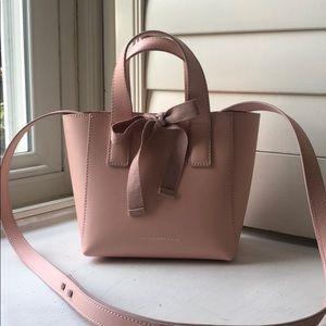 Loeffler Randall pink mini tote
